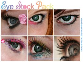 Eye stock pack 15 by EliseEnchanted