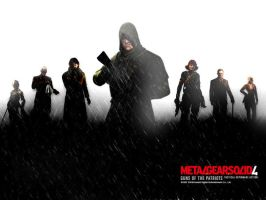 Mgs4 fan wallpaper by Shagohod88