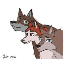 Balto+Jenna+Aleu by Sellenin