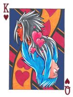Playing card by Mushroom-Jelly