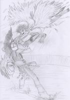 An inequal fight by kalistina