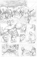 X-Men Page 4 by craigcermak