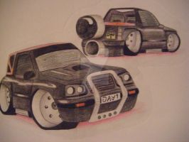 Vitara Pencil Drawing by MadeByJanine