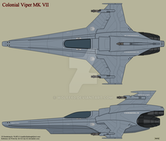 Colonial Viper MK7 by Wolff60