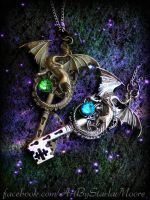 Dragon Lover's Keys by ArtByStarlaMoore