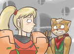 SamusFox Doodle Thing by Mister-Saturn