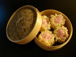 Sui Mai Plush w Dim Sum Basket by smallrinilady
