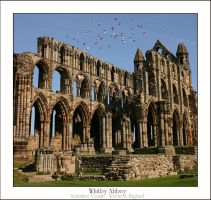 Whitby Abbey by Foxfires