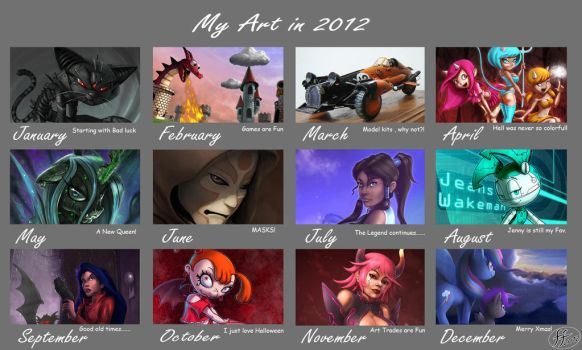 2012 art summary by 14-bis