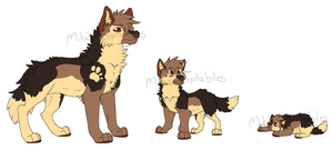 Male Wolf Auction CLOSED by MikasAdoptables