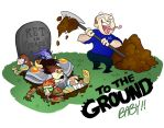 TO THE GROUND by cazamonster