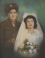 My Parents Wedding Photo 1942 by AndySerrano