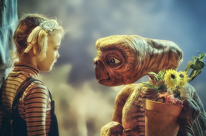 E.T. the Extra-Terrestrial by G-10gian82