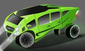 Iguana car by GDSWorld