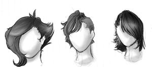 Adoptables: Hairstyles CLOSED by BritishMindslave