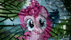 Pinkie Pie Shattered Wallpaper by Chadbeats