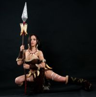 Nidalee Cosplay 8 by IssabelCosplay