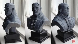 Dudley Bust Sculpt by rgm501