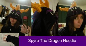 Spyro The Dragon Hoodie by TombRaiderKuchen