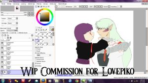 Commission: WIP PREVIEW 1 by AnimeEmm