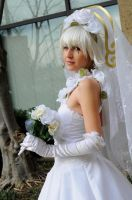 Wedding Shino - .hack GU by popecerebus