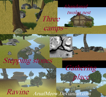 CotR-  Feral Heart map by ArualMeow