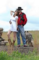Red neck couple stock 36 by Random-Acts-Stock