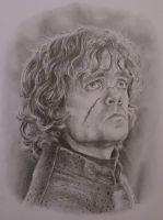 Peter Dinklage as Tyrion Lannister by JonARTon