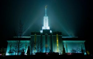 Temple Christmas Eve 7 by sonicmotion