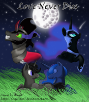Love Never Dies (Comic Cover Art) by Angelstar7