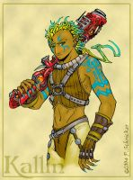Kallin: rough color comp by nachtwulf