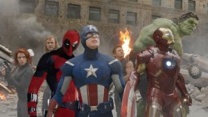 DEADPOOL And The AVENGERS (FAN MADE FUNNY) by Darth-Slayer