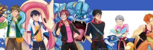 Free! Pokemon by Pig-Demon