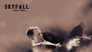 James Bond Skyfall Poster by Amythology