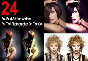 24 Pro Photography Actions by ritter99