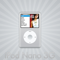 iPod Nano 3G by cruzerDESIGN