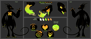Reference Sheet: Mosquito by C0ZR10N