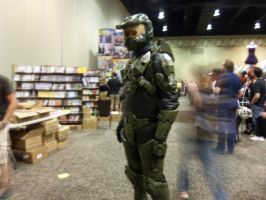 The Master Chief by The-True-ZX