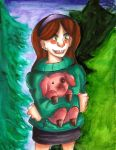 Mabel and Waddles by Xxhot-mindsxX85