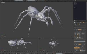 Lovecraftian monster wip3 by betasector