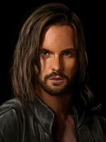 Portrait of Tom Riley:Leonardo da Vinci by S-A--K-I