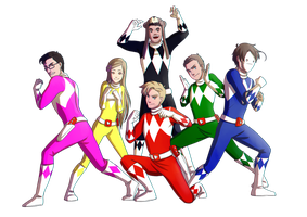 YT: Power Rangers by Kiwa007