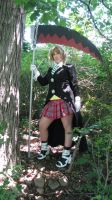 Maka with her Scythe by BluRockAngelCostumes