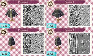 Animal Crossing QR - Persona 4 School Jacket by DexterYam