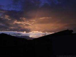 Ravange of sunset light (2) by Rosshi