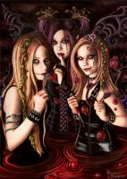 Three Whispers by Pixie-Lyrique
