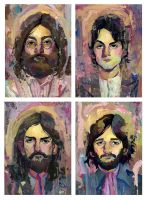 The Beatles by RichPellegrino