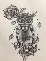 owl by Give-Into-The-Night