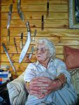 Grandmother_With_Knives by HeatherHorton