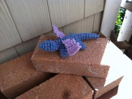 Winged LIzard or Tiny dragon by Alicia1018